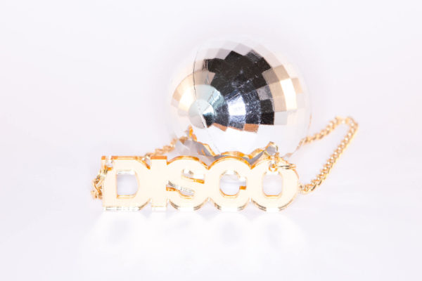 YES; Mirrored Perspex Necklace   Festival & Party Jewellery   Kokomo Design   Bristol
