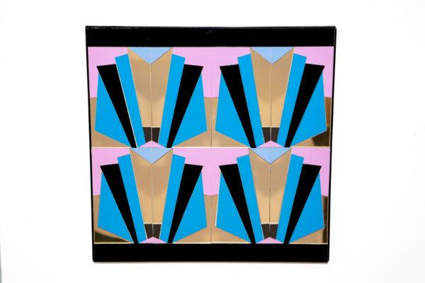 Art deco 3 perspex artwork home decor kokomo design for Home art deco designs