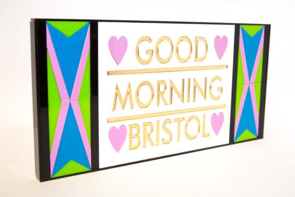 Good Morning Bristol | Perspex Artwork | Home Decor | Kokomo Design