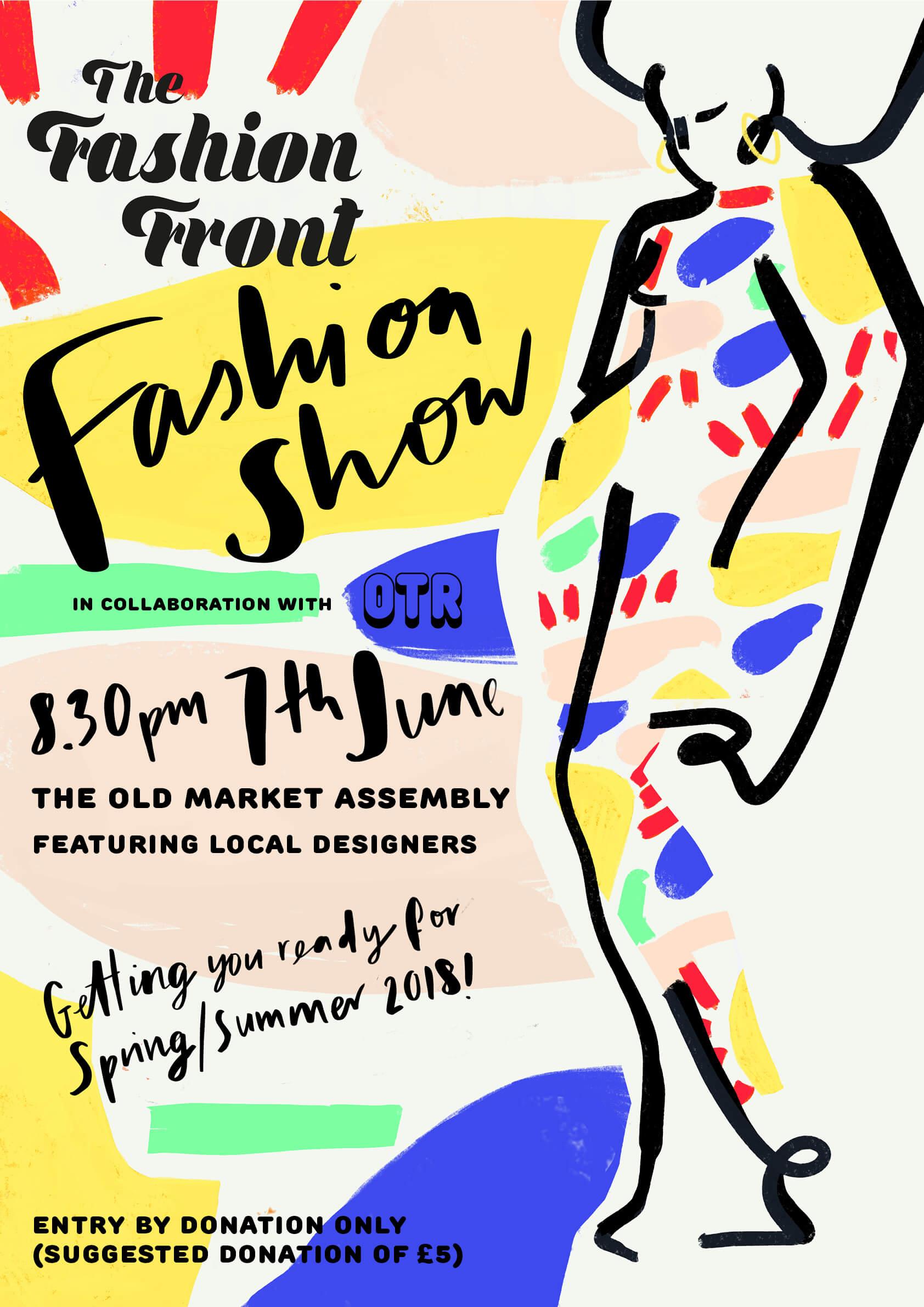 Fashion Show Poster 2018 Kokomo Design